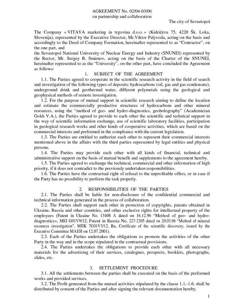 Business Partnership – Business Partnership Agreements